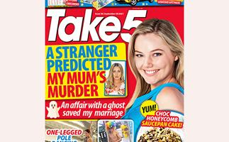 Take 5 Issue 39 Online Entry Coupon