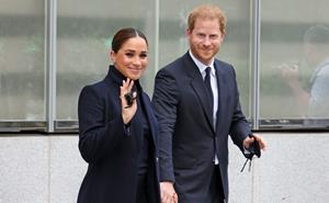 The Sussexes take the Big Apple! Harry and Meghan make their first appearance since Lilibet's birth in New York City