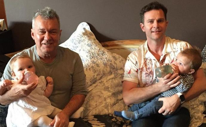In pictures: David Campbell's unique blended family is proof that love conquers all
