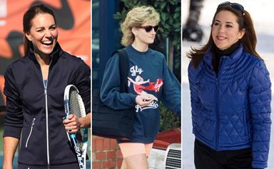 Forget ballgowns and tiaras! These royals win gold for their most fashion-forward activewear looks