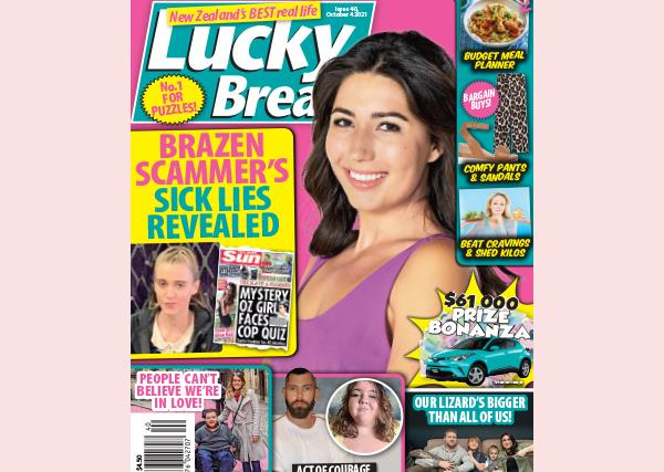 Lucky Break Issue 40 Entry Coupon