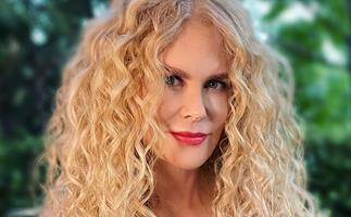 Nicole Kidman embraces her natural hair for a glamorous 'curls night out' in LA