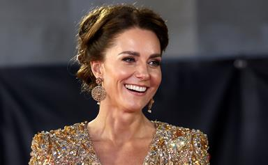 Duchess Catherine steals the show at the James Bond world premiere in the glittering gown of our dreams