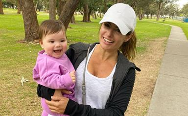 Ada Nicodemou finally reunites with her beloved goddaughter after difficult months apart