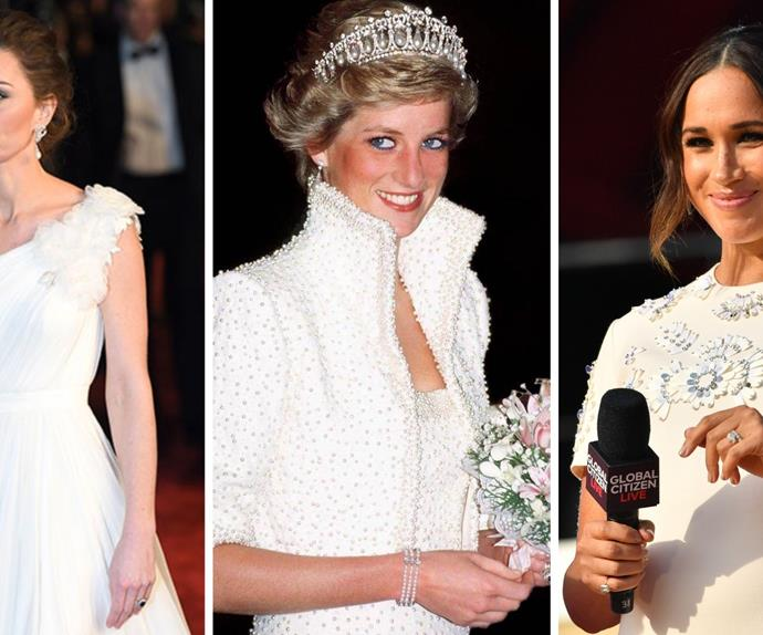 Glittering gifts: Every time Duchess Catherine and Duchess Meghan have worn Princess Diana's jewellery