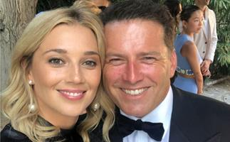 Karl Stefanovic's sweet tribute to his wife Jasmine and daughters Ava and Harper
