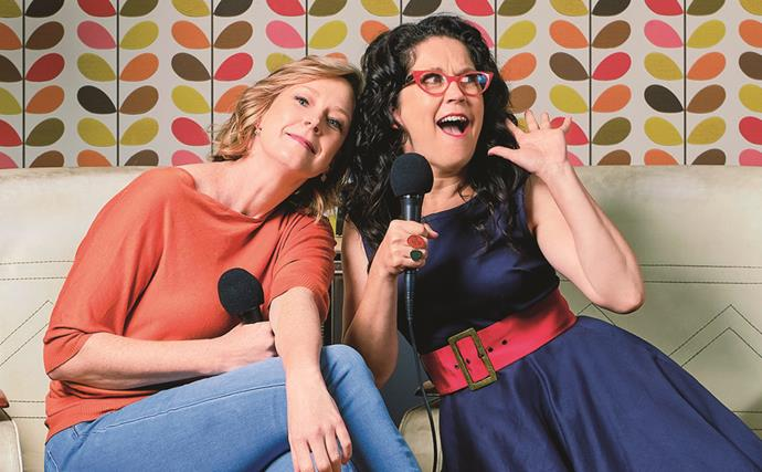EXCLUSIVE: When Annabel Crabb and Leigh Sales started a podcast characterised by their own madcap friendship, it showed them what happiness is all about