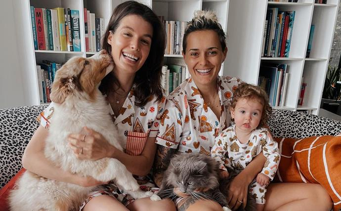 Survivor and AFLW star Moana Hope reveals she and wife Isabella Carlstrom are preparing for baby number two