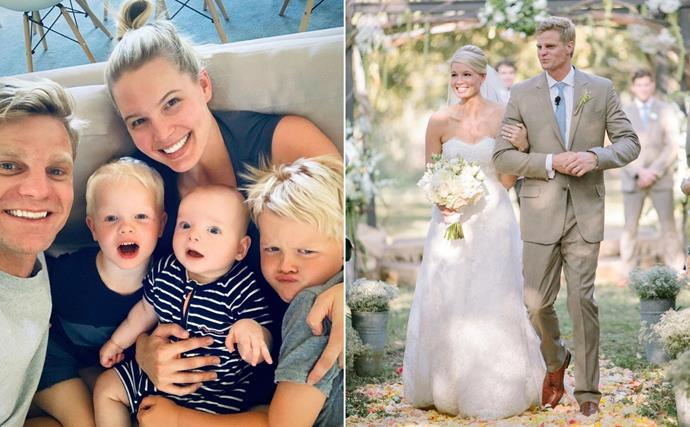 Y'all are about to fall in love with former AFL player Nick Riewoldt's transpacific family