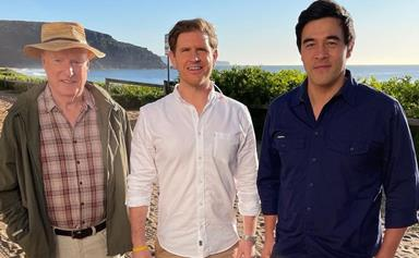 Sam Mac stars on Home and Away as a VIP guest, and he totally nails his 47 words of dialogue