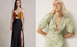 Saunter into your post-lockdown weddings with your best frock forward, but this time it's all about party hems and bold aesthetics