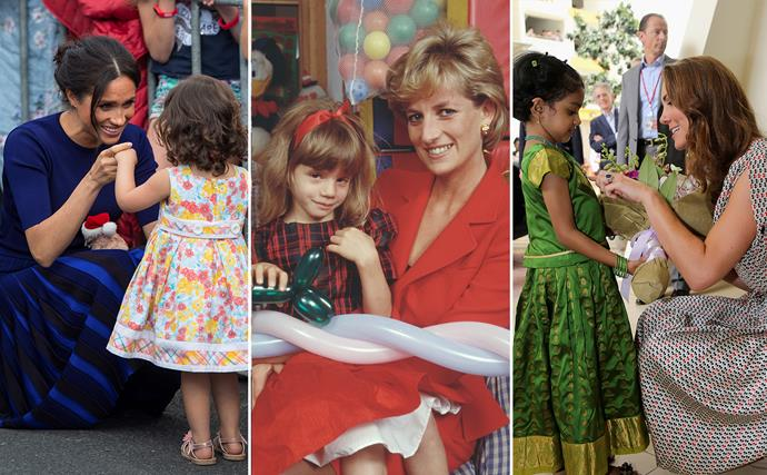 Doing it for the girls: How three generations of royal women have supported girls' rights