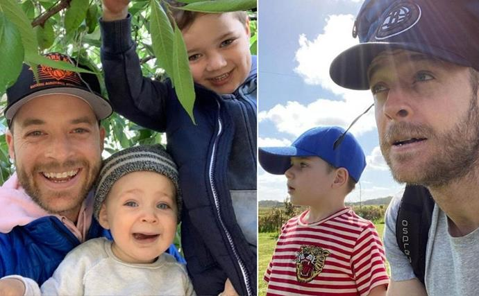 Inside Hamish Blake's chaotic but endearing parenting style, which includes manufacturing grappling hooks, stick forts, and adventures
