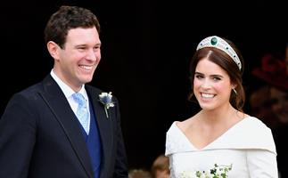 Princess Eugenie marks her and husband Jack Brooksbank's third wedding anniversary with an unseen photo that has taken our breath away