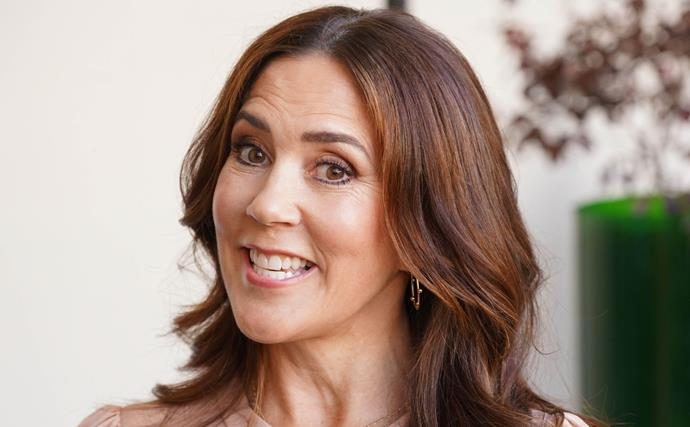 Crown Princess Mary always adheres to royal protocol, but she just struck a cheeky pose unlike anything we usually see