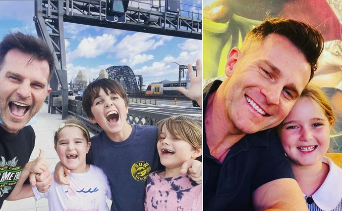 All the heartwarming moments dedicated dad David Campbell has shared with his three children