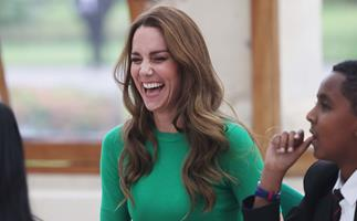 Duchess Catherine goes green and recycles her style staples for a very important environmental lesson