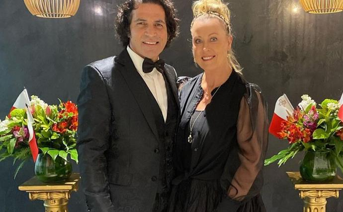 Lisa Curry's husband Mark Tabone has shared a gushing post about how their love changed his life