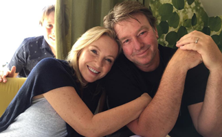 EXCLUSIVE: Rebecca Gibney reveals the truth about her marriage after 20 years with husband Richard Bell