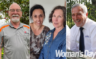 Celebrating everyday heroes! Meet the winners of the Woman's Day Time To Say Thank You competition