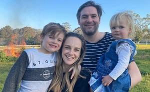 Closer each day! Former Home and Away star Penny McNamee's anniversary gift from her husband has the sweetest meaning behind it