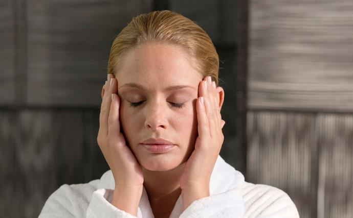 Glamour that costs you nothing! How to give yourself an at-home massage for a DIY anti-ageing facelift