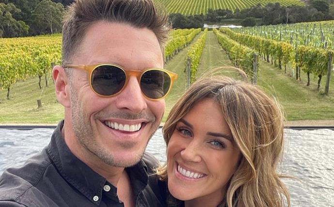 Bachelorette stars Georgia Love and Lee Elliott celebrate an exciting milestone together