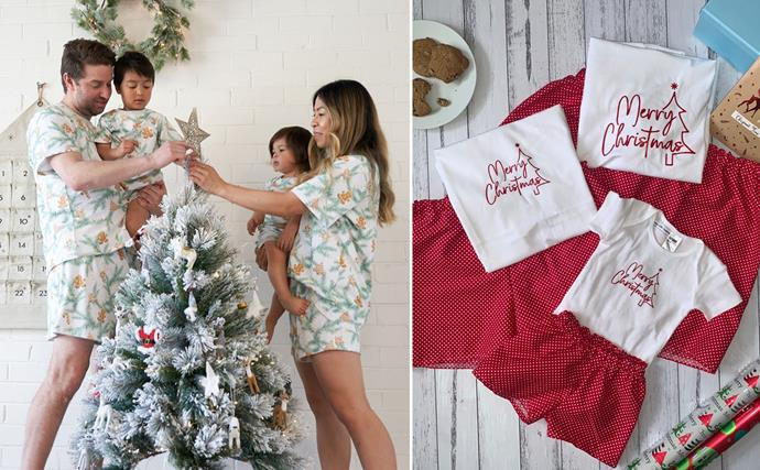 Bring the festive cheer with these matching Christmas PJs for the whole family