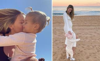 Jennifer Hawkins is officially a toddler mum and rang in daughter Frankie's second birthday with the cutest festivities