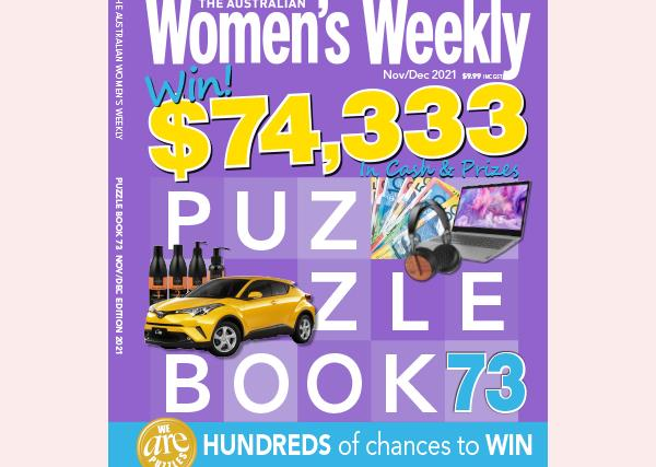 The Australian Women's Weekly Puzzle Book Issue 73