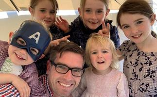 Six kids and one more on the way: NSW premier Dominic Perrottet's family is his own personal cheer squad