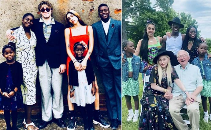 Madonna's brood of six children are growing up fast, but her parenting journey hasn't always been straightforward