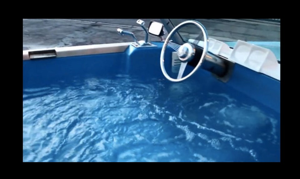 Mobile Hot Tub Top Gear