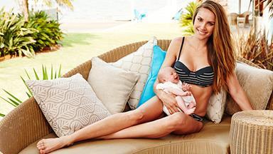 Rachael Finch's amazing baby body bounceback!