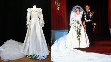 Princess Diana's replica wedding gown sells for $128,000