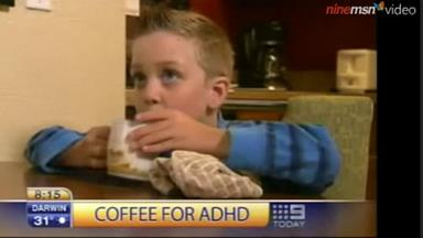 US boy drinks coffee to stop ADHD