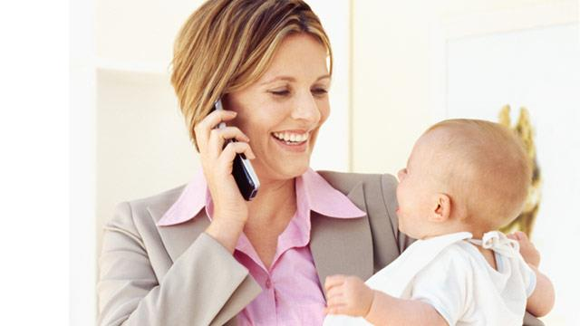 Working mums are happier and healthier study finds