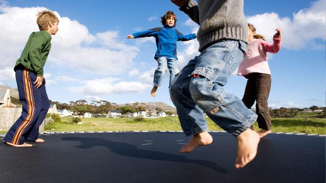 Trampolines too dangerous to use, health experts say