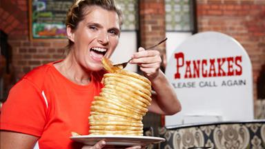 I eat 18 pancakes at once!