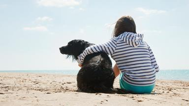 The benefits of growing up with a pet dog