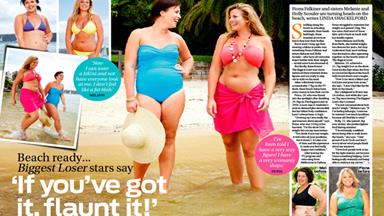 Biggest Loser stars say: If you've got it, flaunt it!