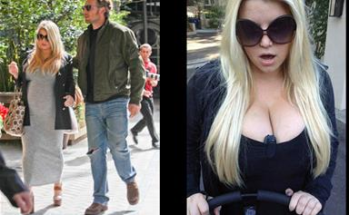 Jessica Simpson: 'My boobs are too big to exercise'