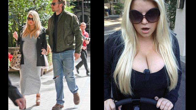 Jessica Simpson: My boobs are too big to exercise