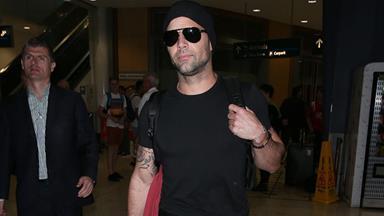 Ricky Martin arrives ahead of *The Voice*