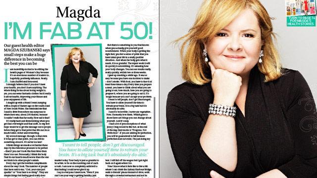 Magda Szubanski: I'm fab at 50!