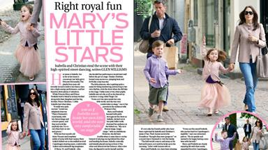 Princess Mary's children are little stars