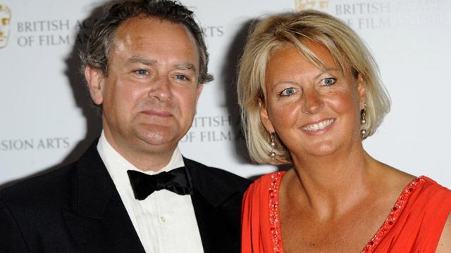 <i>Downton Abbey</i>'s Hugh Bonneville says meet my wife