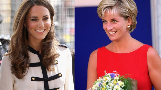 Kate following in Diana's footsteps