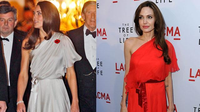 Copy Kate: Kate Middleton is cloning Angelina Jolie