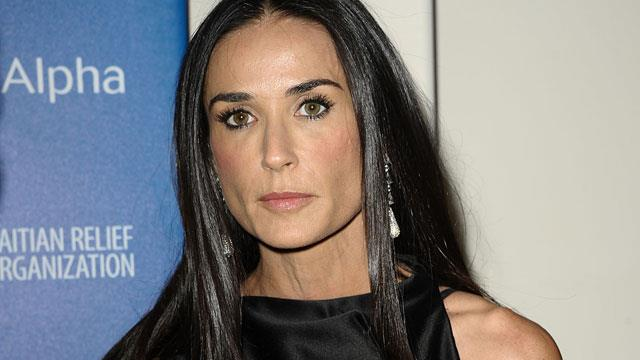 Demi Moore rushed to hospital